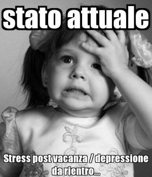le ferie non si toccano stress post ferie