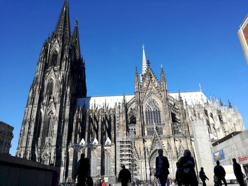 esterno duomo di Colonia