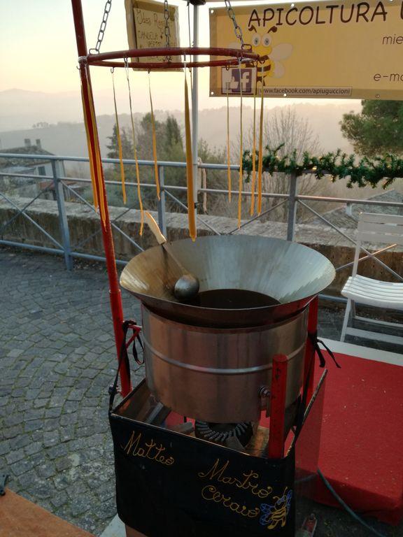 candele a candelara produzione miele