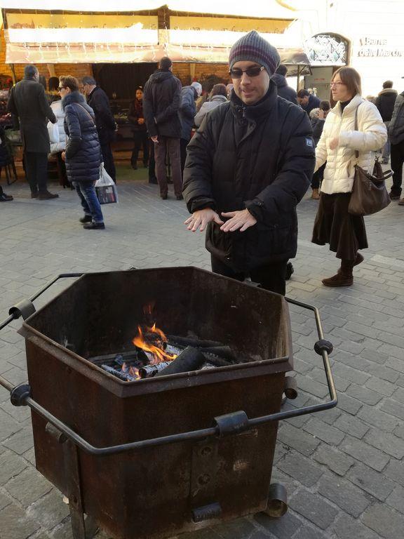 mercatini di Natale sant'agata feltria caldarroste