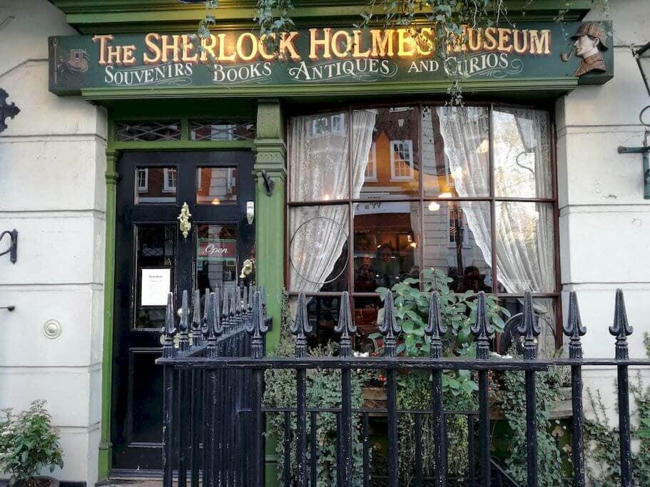 sherlock holmes museum esterno