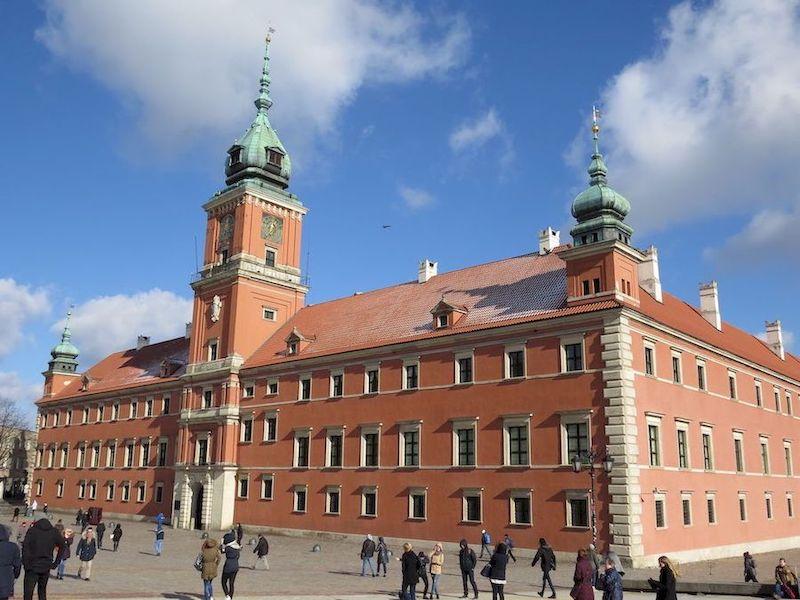 castello reale Varsavia