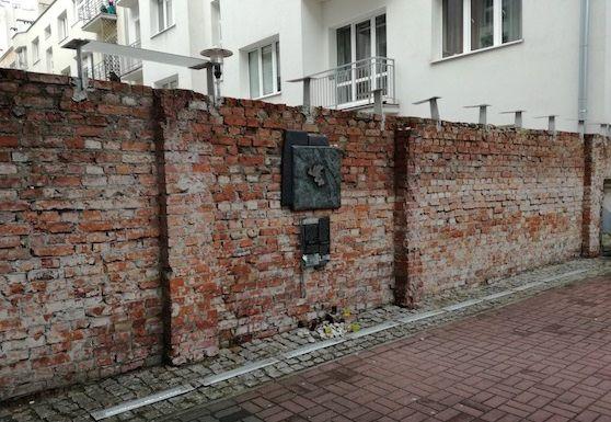 resti ghetto ebraico Varsavia