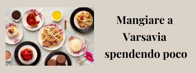 copertina dove mangiare a Varsavia