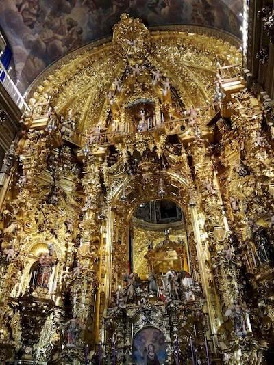interno basilica san juan de dios granada