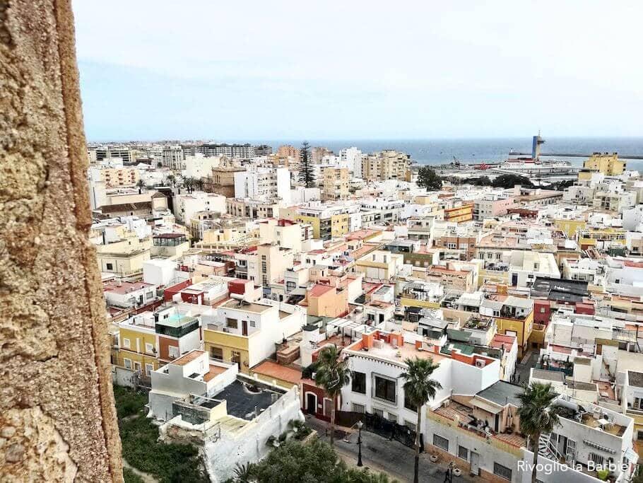 almeria vista città