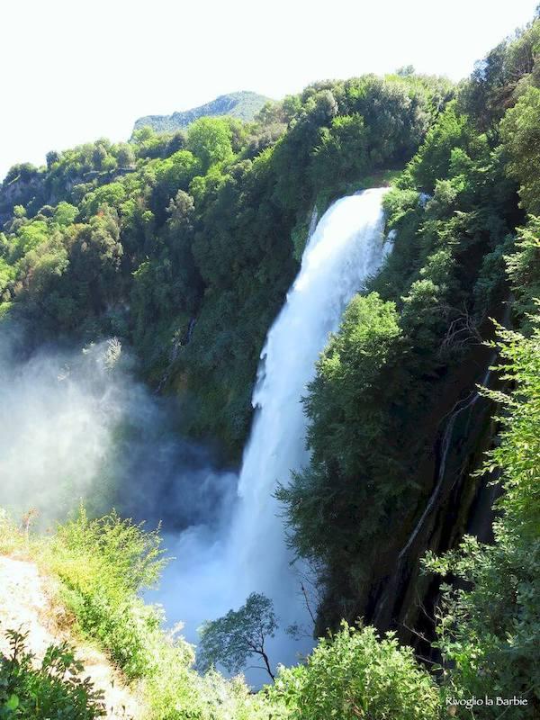 belvedere superiore cascate delle marmore