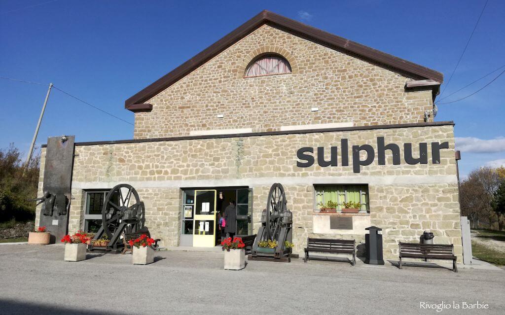 museo sulphur perticara