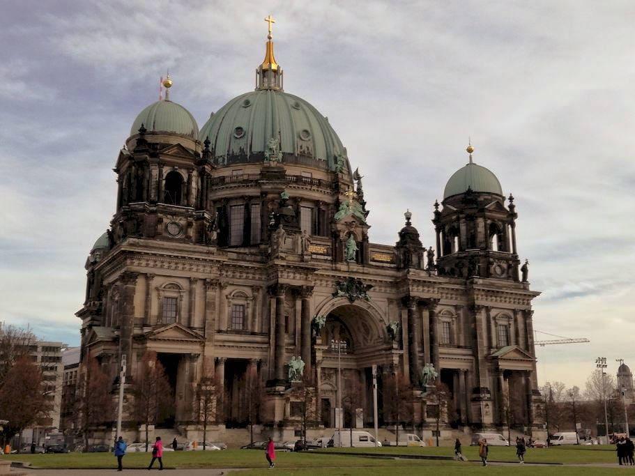 esterno berliner dom Berlino