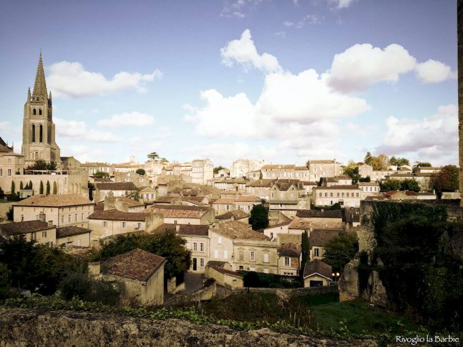 Vista dalla Tour du Roy Saint-Émilion