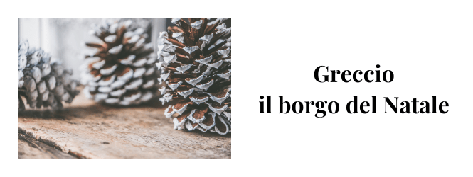 cosa vedere a greccio a Natale