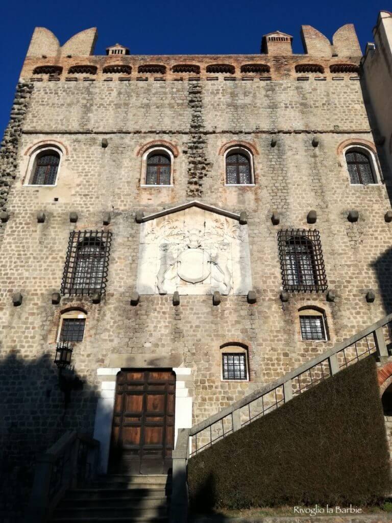 esterno castello cini monselice