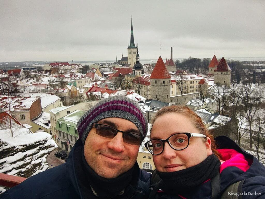 panorama su Tallinn