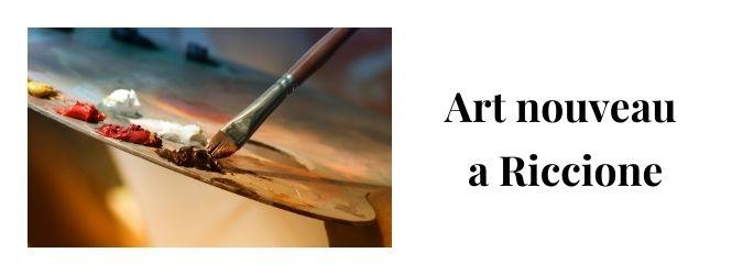 art nouveau riccione