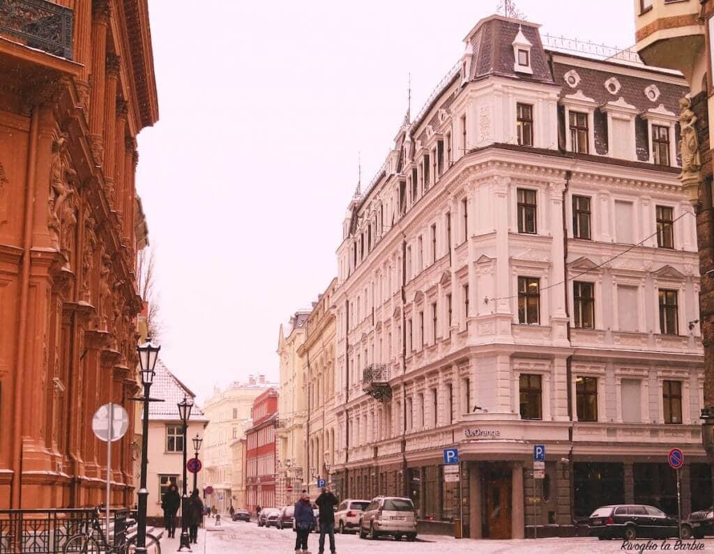 città vecchia Riga
