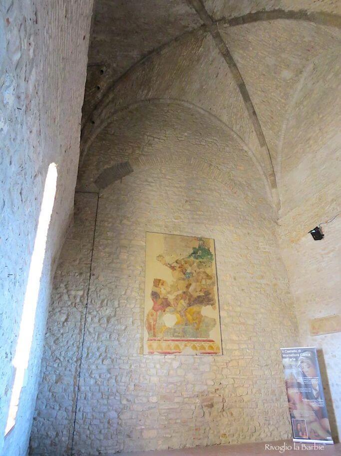 Sala del trono castello di Montefiore Conca