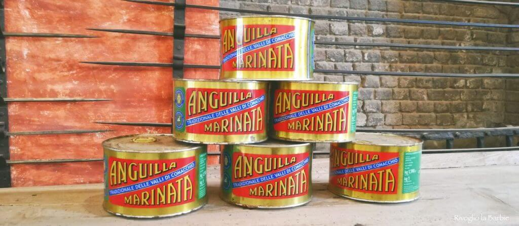 barattoli anguilla Comacchio