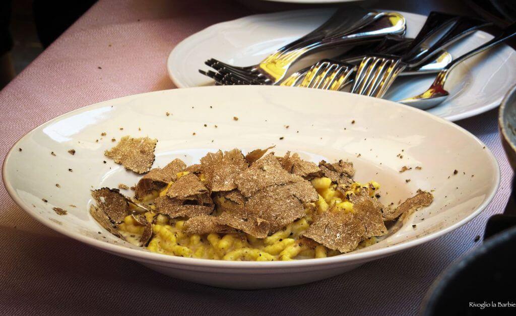 passatelli tartufo nero