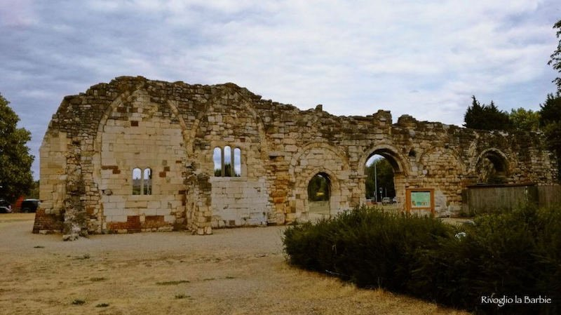 rovine chiesa di sant'Osvaldo gloucester