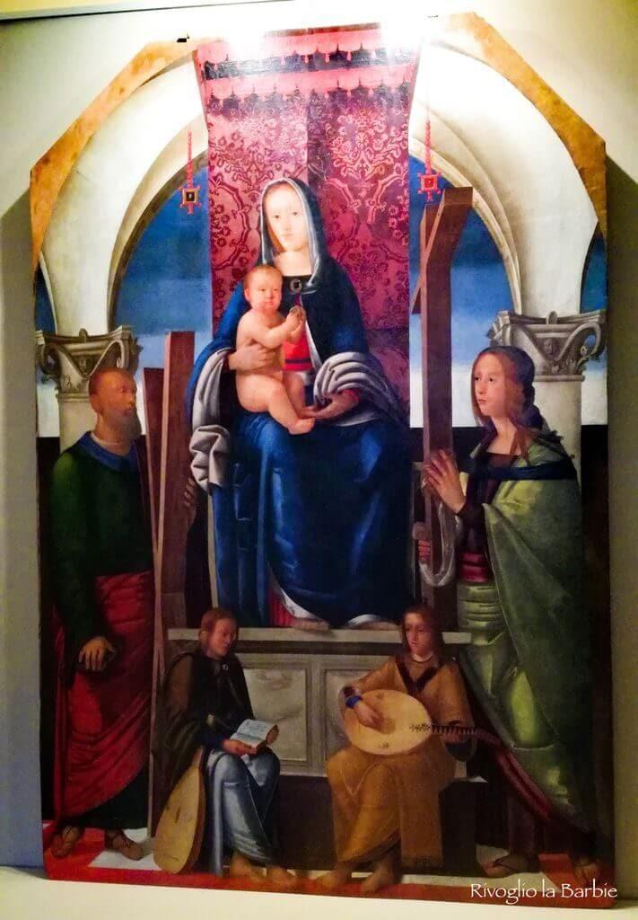 Pala d'altare palazzo compagnucci