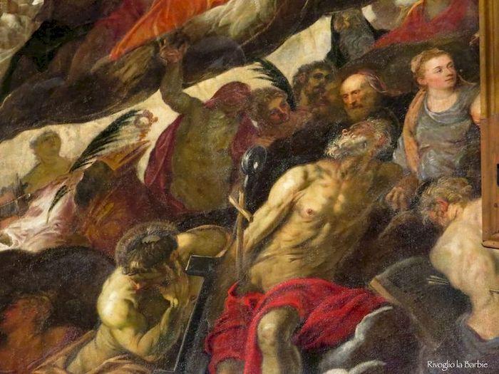 quadro Tintoretto Chiesa Madonna dell'Orto