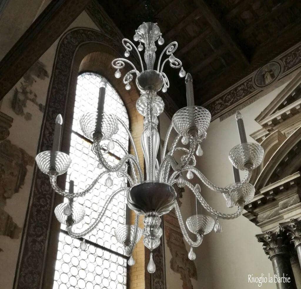 lampadario chiesa san pietro martire Murano