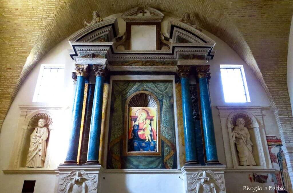polittico chiesa san Francesco Monterubbiano