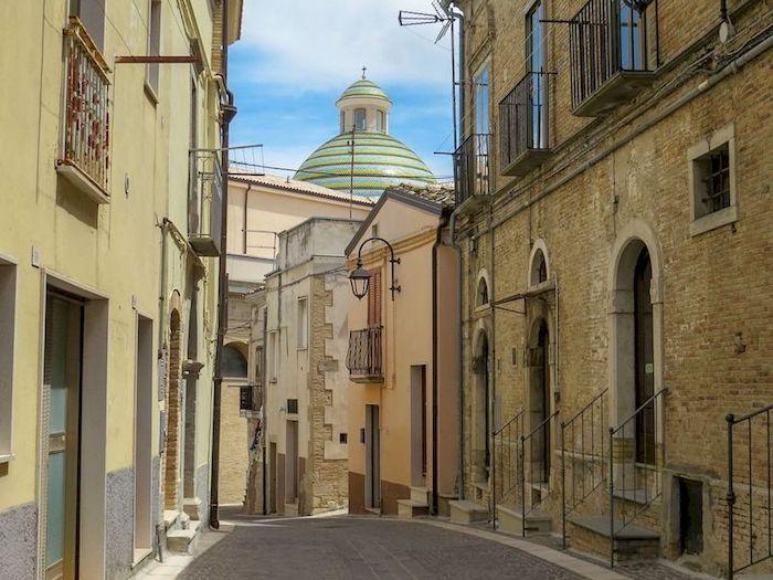 centro storico Biccari