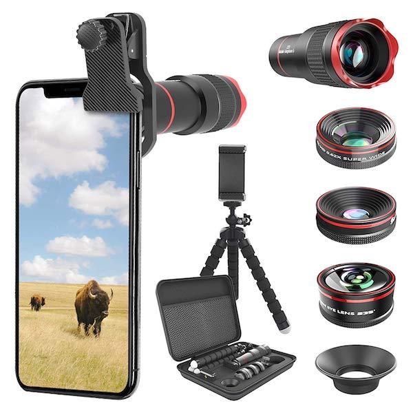 kit obiettivi cellulare smartphone