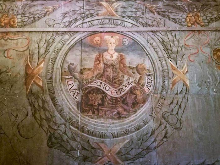 allegoria dell'Europa casa romei