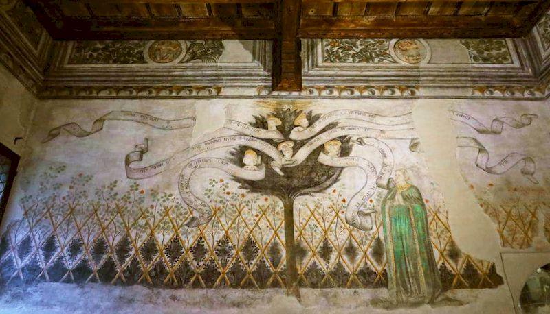 sala dei profeti casa romei ferrara