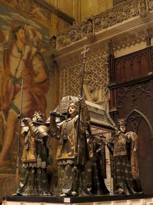 tomba di cristoforo colombo