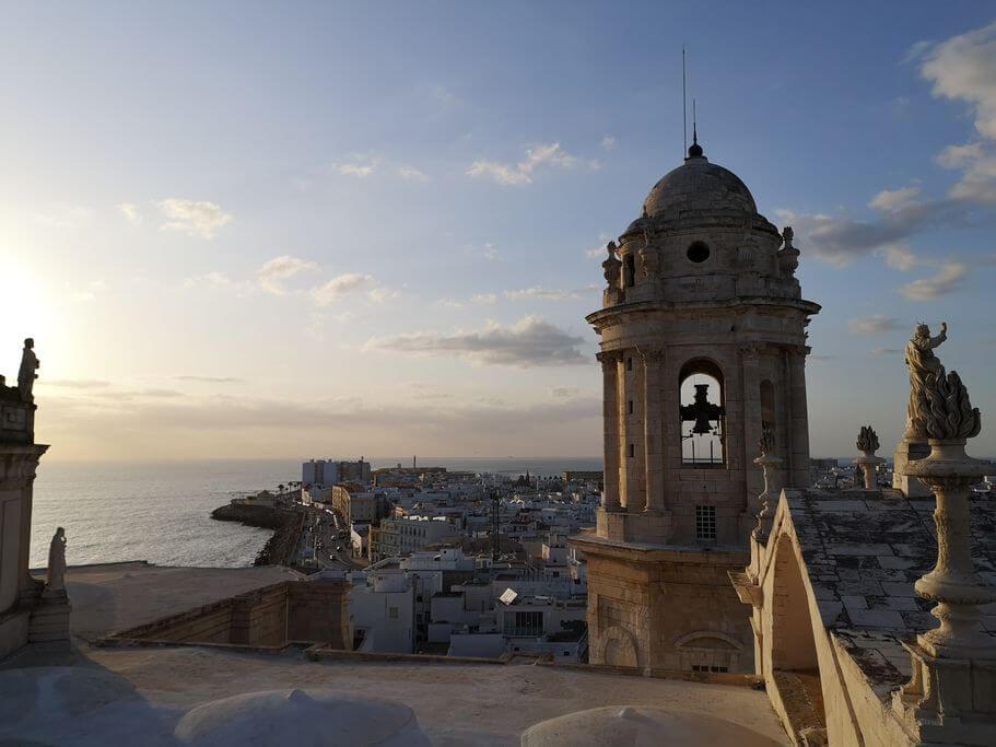 vista cadice dalla torre