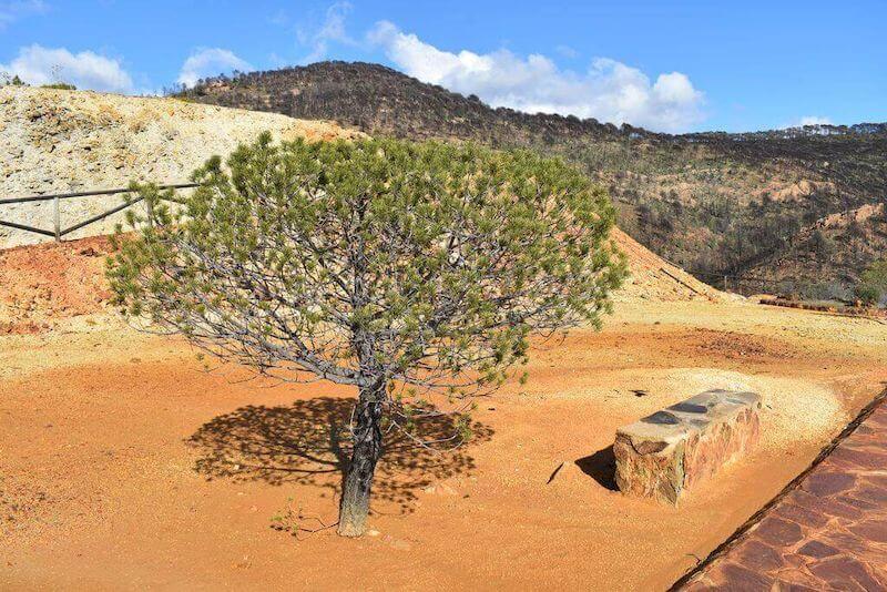 pena de hierro parque minero riotinto andalusia