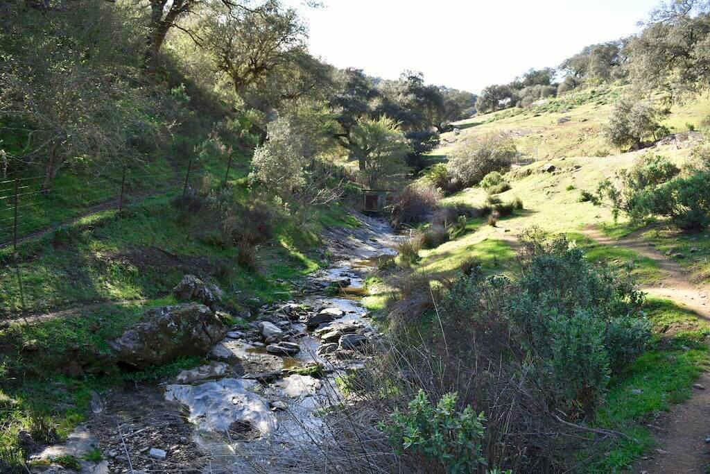 Sendero las Laderas Sierra Norte de Sevilla