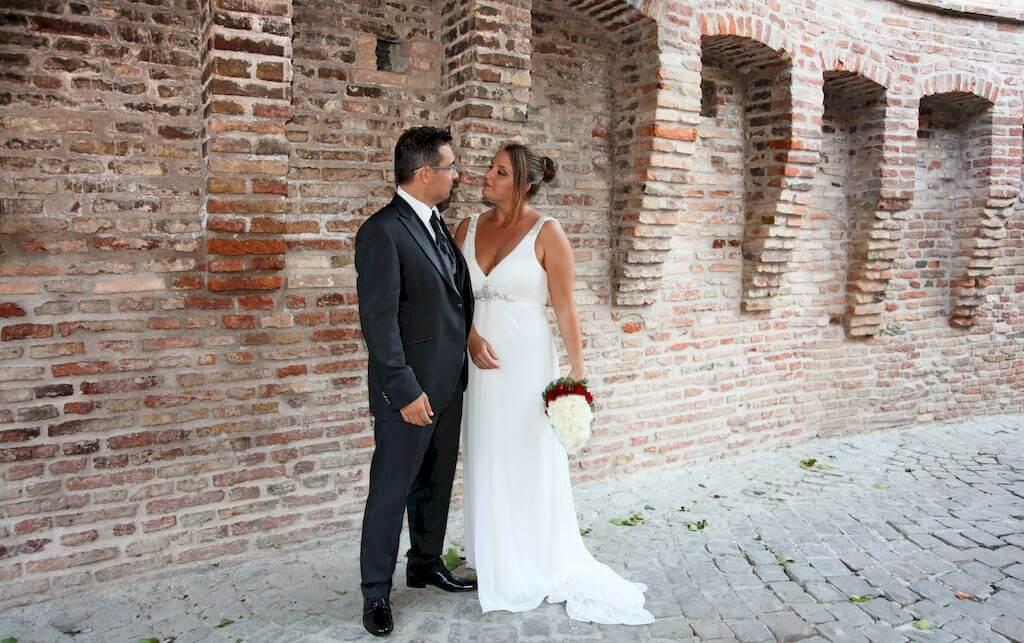 matrimonio a gradara romantico