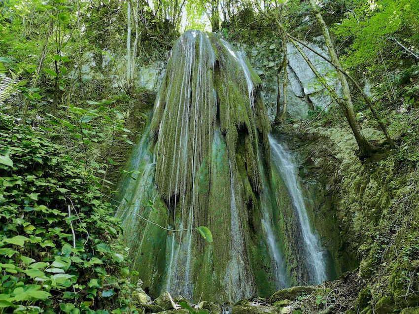 cascata dello sturo della Piscia