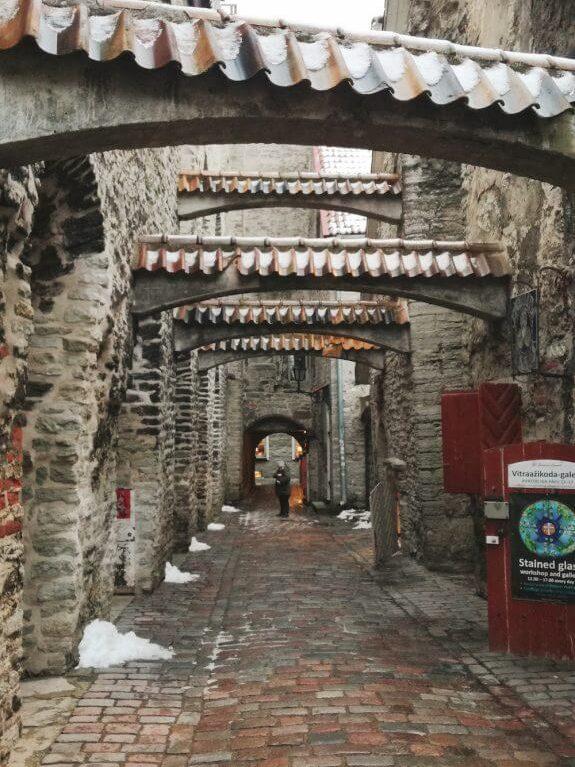 passaggio di santa caterina Tallinn