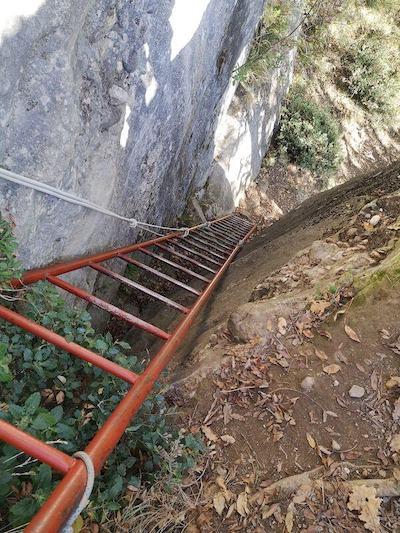 scala rocca di maioletto