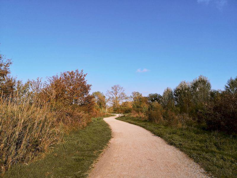 sentiero sterrato trekking