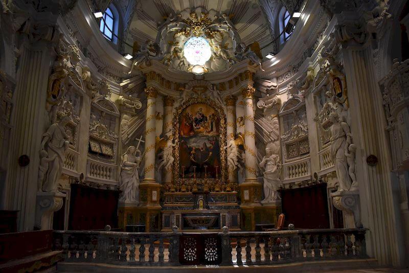 altare chiesa di san filippo fossombrone
