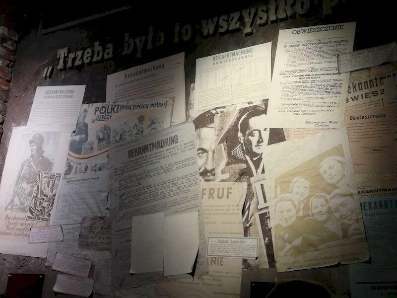 Museo dell'Insurrezione di Varsavia documenti