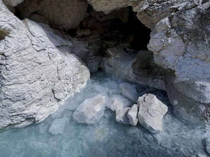 sorgenti sulfuree fiume Sentino